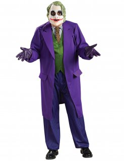 Joker Herrenkostüm The Dark Knight™ Lizenzware lila-grün