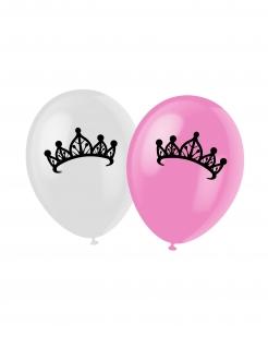 Prinzessin Luftballons 6 Stk.