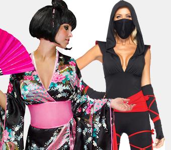 Günstige Asiatische Kostüme Karneval Megastorede