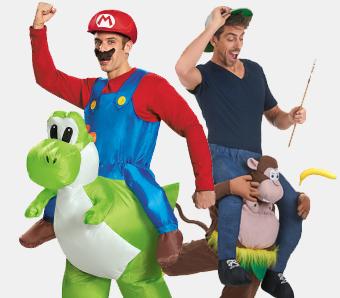 Witzige Huckepack Carry Me Kostume Karneval Megastore De