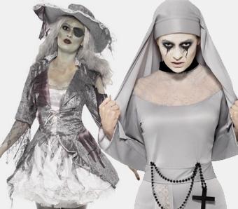 Schaurige Geister Gespensterkostume Karneval Megastore De