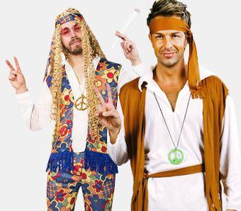 998cfb6c153dbc Hippie-Kostüme für Herren
