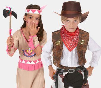 Eindrucksvolle Cowboy Und Indianerkostume Karneval Megastore